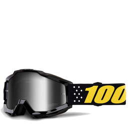 100% Accuri Anti Fog Mirror goggles zwart